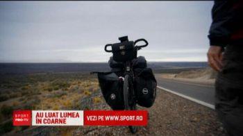 Romanul care a traversat America pe bicicleta poate face un film cu aventurile traite! A pedalat peste 34 de mii de kilometri