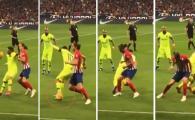 Cel mai TARE dribling din cariera lui Messi? Filipe Luis, umilit de starul Barcei! Faza incredibila
