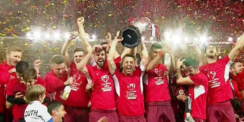 Chindia este ajutata in drumul spre Liga 1 de un jucator-talisman, care a mai promovat cu alte trei echipe