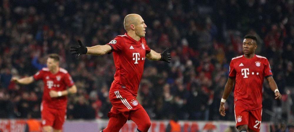 BAYERN - BENFICA | Singurul jucator care mai poate face ASTA e Messi! Goluri incredibile trase la INDIGO ale lui Robben! VIDEO