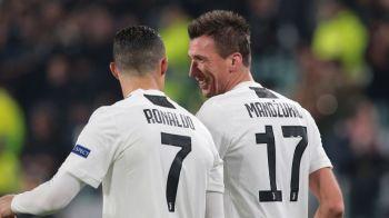 Juventus 1-0 Valencia; Roma 0-2 Real Madrid; Lyon 2-2 Man City | Bayern s-a distrat cu Benfica, United s-a calificat in minutul 90 cu Young Boys | Ajax, calificata in optimi dupa 13 ani