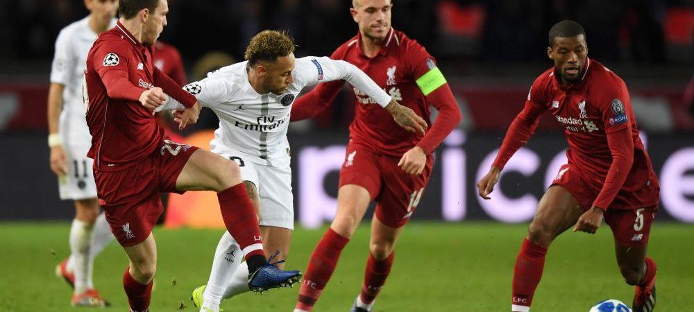 PSG 2-1 Liverpool: Va fi nebunie in Grupa B in ultima etapa! Messi si Pique aduc victoria Barcei! Tottenham 1-0 Inter; Atletico 2-0 Monaco; Dortmund 0-0 Brugge