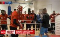 Fostul coleg al lui Buffon, dinamovistul Branescu, s-a apucat de box! Noii colegi din Slovenia l-au pus sa urce in ring!
