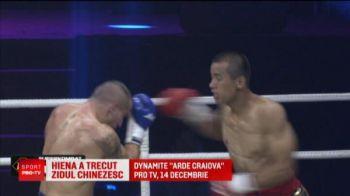 """El e """"HIENA"""" din ring! A cucerit China iar acum se bate la gala lui Morosanu, in direct la Pro TV: """"Il voi lichida!"""""""