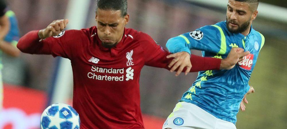Liverpool - Napoli, prima FINALA a sezonului! Barca e deja calificata, PSG e obligata sa castige! Situatia din toate grupele