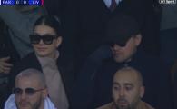 Aparitie de Oscar aseara la PSG - Liverpool: Leonardo Di Caprio, cu ochelari de soare ca sa nu fie recunoscut :)