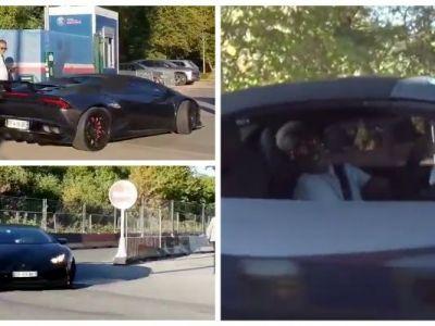 """""""Neymaaareee, hai sa te dau o tura! :)"""" Pustiul de la PSG care si-a """"preparat"""" Lamborghiniul si face senzatie in parcarea bogatilor de la Paris"""