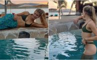 Daca nu ea, atunci cine?! Genie Bouchard, o noua aparitie super sexy la piscina, pentru un pictorial hot. FOTO & VIDEO
