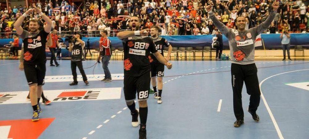 PERFORMANTA EXTRAORDINARA! Dinamo Bucuresti s-a calificat in play-off-ul Ligii Campionilor la handbal masculin
