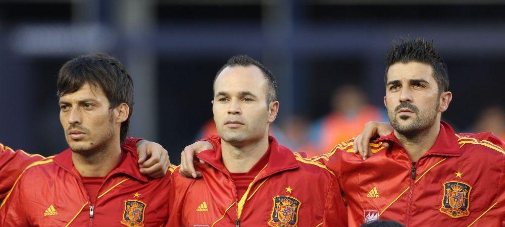 Iniesta si David Villa vor juca la aceeasi echipa! Formatia care va avea TREI supercampioni mondiali si europeni in atac