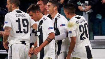Ronaldo si noii galactici: Juventus, la 4 meciuri de o performanta greu de repetat! E singura echipa care reuseste asta in 2018