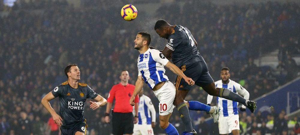 Reactia lui Florin Andone dupa primul gol in Premier League, la primiul meci ca titular la Brighton. Promisiunea facuta fanilor
