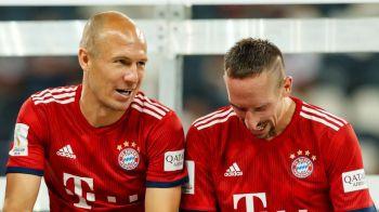 Finalul unei ere! Robben si Ribery pleaca impreuna de la Bayern, dupa un deceniu in care au scris istorie! Anuntul facut de olandez