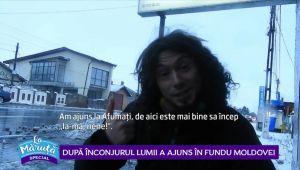 VIDEO: Dupa inconjurul lumii a ajuns in Fundu' Moldovei