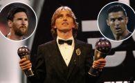 BALONUL DE AUR 2018 | Luka Modric este cel mai bun fotbalist al planetei! OFICIAL: Cum arata TOP 4 final
