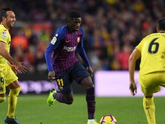 """Performanta remarcabila pentru """"rebelul"""" Barcelonei! E incredibil ce a reusit Dembele in ultimul meci"""