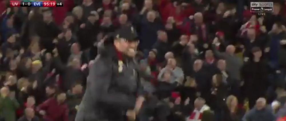 """""""E absolut socant! Un fan era ARESTAT daca facea asa!"""" Klopp e facut praf pentru modul in care s-a bucurat la golul din minutul 96! VIDEO: ce a facut"""