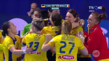 Sa vina Norvegia! Romania sclipitoare pulverizeaza Germania: 29-24! Neagu a devenit cea mai buna marcatoare din istoria EURO, suntem in grupele principale!