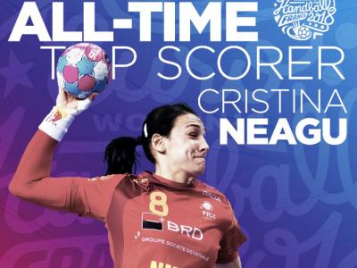 The Queen! Ce inseamna, de fapt, performanta Cristinei Neagu la Europeanul de handbal feminin