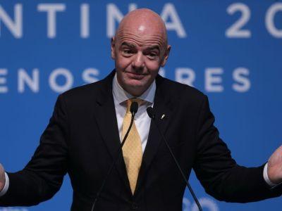 Planul secret al lui Gianni Infantino: FIFA vrea ca Mondialul din 2022 sa fie gazduit si de o alta tara! Cum ar putea asta sa ajute Romania