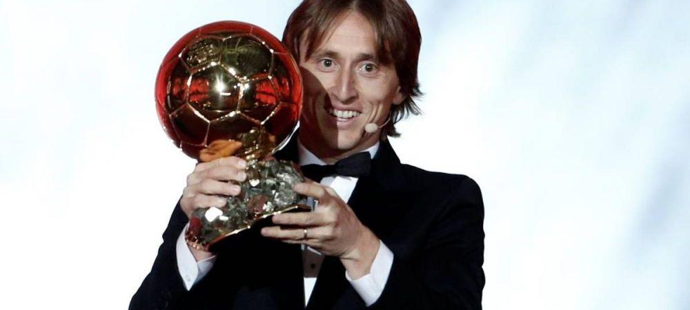 """Modric, ATAC DEVASTATOR la Messi si Ronaldo dupa castigarea Balonului de Aur: """"Trofeul asta e pentru cei care meritau sa castige si n-au castigat!"""""""