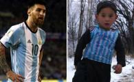 Cosmarul pe care il traieste baietelul afgan de cand l-a intalnit pe Messi: amenintari de rapire si casa bombardata