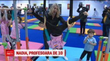 """Nadia si-a deschis scoala de gimnastica! Reactia lui Tiriac: """"E mai mult aur aici decat in tezaurul Romaniei!"""" Cum a decurs prima lectie pentru Simona Halep"""