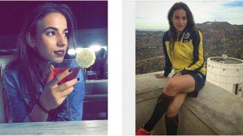 Ea este cea mai buna fotbalista din Romania! Putea alege oricand concursurile de Miss, dar a preferat fotbalul si a debutat la nationala la 15 ani