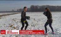 Se antreneaza cu iubita in zapada ca sa faca SHOW la gala lui Morosanu! Gala e LIVE PE PRO TV pe 14 decembrie