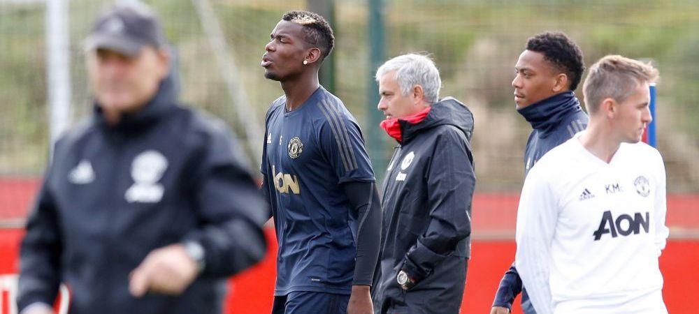 """O noua """"BATALIE"""" intre Pogba si Mourinho! """"E un virus"""" Raspunsul transant al francezului dupa ce antrenorul l-a criticat pentru rezultatele slabe"""