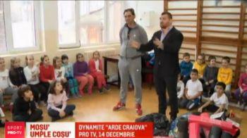 Morosanu a impartit cadouri copiilor de Mos Niculae! Gala de la Craiova e LIVE LA PRO TV pe 14 decembrie