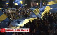 VIDEO FABULOS | Fanii Bocai au facut spectacol la plecarea echipei! Finala Copei Libertadores se joaca la Madrid