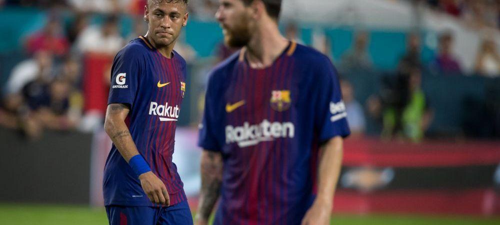 SOC TOTAL! Atac al lui Neymar la Messi! Tocmai a anuntat unde vrea sa joace