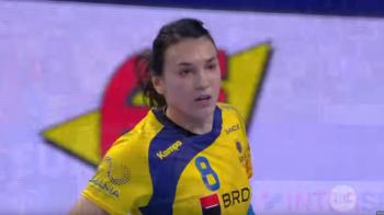 """HANDBAL FEMININ ROMANIA   """"Neagu NEAGA gravitatia!"""" Faza GENIALA reusita de """"Messi"""" contra Norvegiei. VIDEO"""