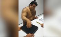 Filmuletul devenit viral astazi: cum da autografe cel mai tare luptator de sumo, fara sa foloseasca pixul :)