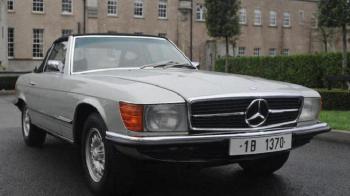 Cu cati bani a fost vandut Mercedes-ul lui Ceausescu! Masina fabricata in 1973 a fost scoasa la licitatie