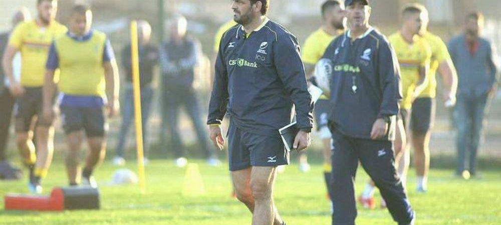 Federatia de Rugby se face din nou de ras: a dat afara selectionerul numit in septembrie!