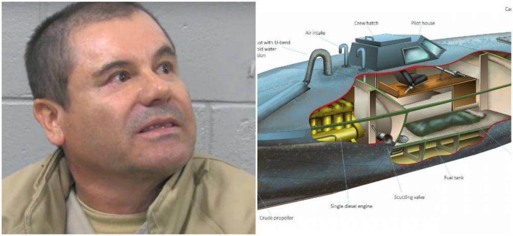 Cum arata in realitate SUBMARINUL lui El Chapo, cu care transporta cocaina de milioane de dolari. Primele imagini