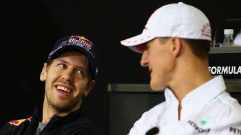 Dezvaluirea emotionanta a lui Vettel despre Schumacher! Mesajul germanului pentru fostul pilot si familia sa