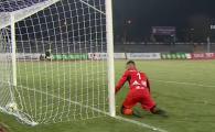 Gafa COLOSALA la FC Arges - Pandurii! Ce a putut sa faca portarul la un sut banal! FOTO