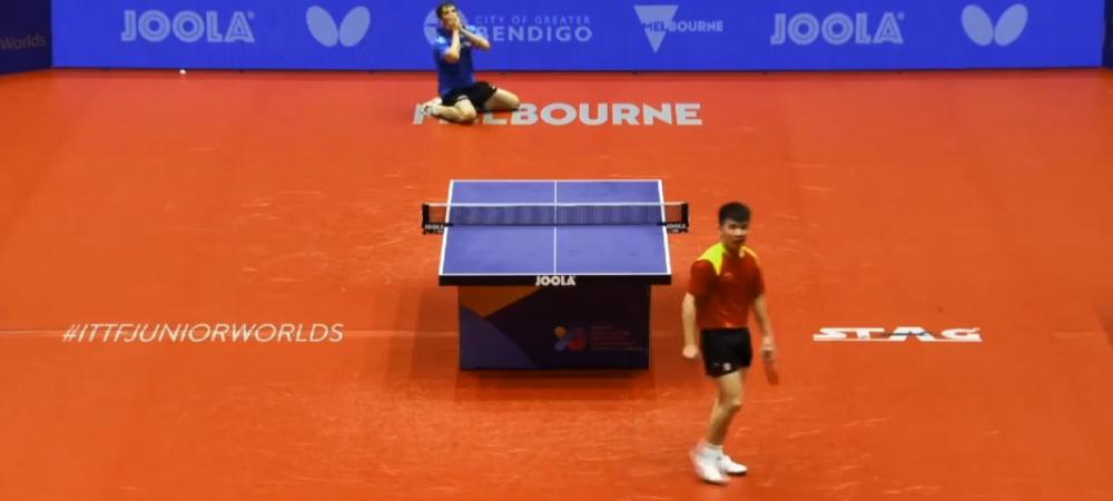 Performanta URIASA! Pustiul-minune din Romania a dat de pamant cu chinezii la Campionatul Mondial de Tenis de Masa: A facut MINGEA TURNEULUI | VIDEO