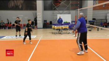 Rica Raducanu a trecut la VOLEI! :)) Cum le-a antrenat pe campioanele de la CSM
