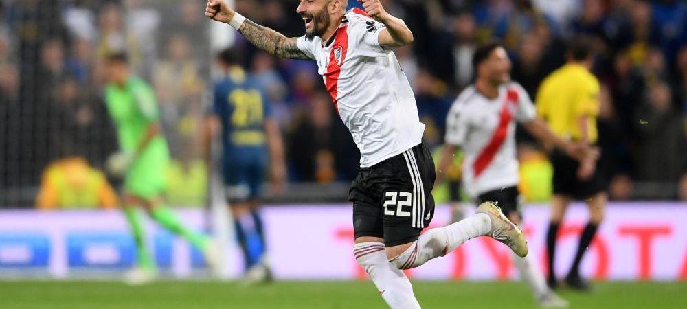 RIVER PLATE - BOCA JUNIORS 3-1, 5-3 la general! River CASTIGA Copa Libertadores dupa 2 goluri in prelungiri! Boca a avut BARA in minutul 120 si putea duce meciul la penalty-uri!!! VIDEO