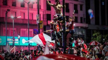 HAOS la Buenos Aires dupa victoria lui River Plate! Fanii au facut prapad si s-au luat la bataie cu politistii