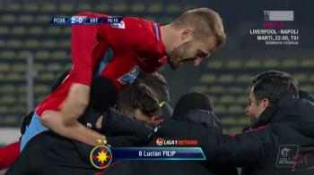 FCSB - VIITORUL 2-0 | Golurile lui Tanase si Filip il salveaza pe Dica! FCSB se apropie la 3 puncte de CFR