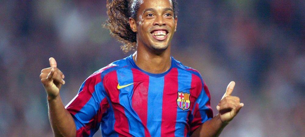 Cum arata omul pe care Ronaldinho il foloseste ca dublura sa. Iti dai seama care e? Asemanarea e izbitoare
