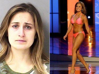 """Cum arata profesoara care ii trimitea unui elev poze cu ea dezbracata. A castigat titlul de """"Miss"""" acum 4 ani"""