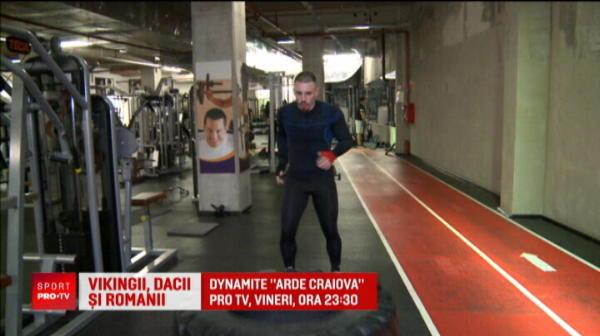Vikingul Amansio, pregatit sa rupa tot in gala de la Craiova care va fi LIVE la Pro X si Pro TV vineri seara