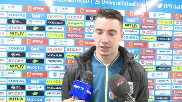 Olteanu' e frate cu moldoveanu'. :) Cum a fost primit Morosanu la Craiova inaintea supergalei de vineri