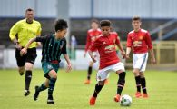 Are 14 ani si joaca deja pentru Manchester United! Moment ISTORIC in UEFA Youth League! VIDEO